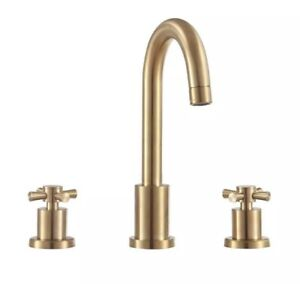 """Avanity FWS17201MG  8"""" Widespread 2-Handle Bathroom Faucet in Matte Gold Finish"""
