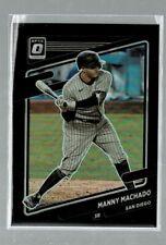 2021 Donruss Optic Manny Machado Black Prizm #4/25 (KD)