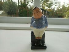 "FAT BOY - A  ROYAL DOULTON ENGLAND CHARLES DICKENS FIGURINE  4.25"" (11 CM) TALL"