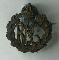 WW1 RFC Royal Flying Corps sweetheart Brooch Made From officers Collar Badge