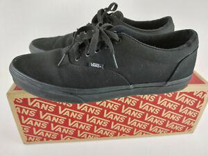 VANS Doheny Black Size 12 - VN0A3MTF186