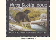 Canada(Nova Scotia) 2002 $6 Habitat (black bear) *Sale*