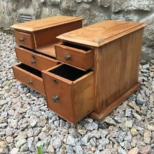 Antique Apprentice Pine Miniature Chest of Drawers Could Be Used For Jewellery