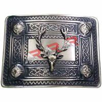 AAR Men's Kilt Belt Buckle Stag Head Antique Finish/Stag Head Kilt Belt Buckles