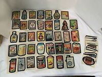 1975 Topps Wacky Packages Lot Of 54 Cards/stickers White And Brown Back