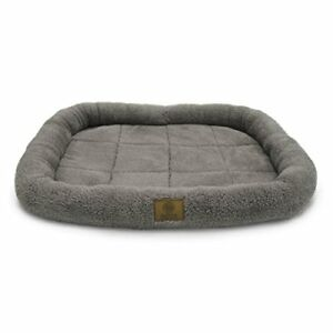 American Kennel Club Crate Mat, 36 by 23-Inch, Gray