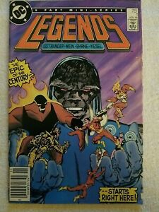 Legends Comic 1 1986