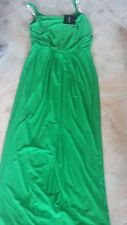 NWT Ladies evening cocktail dress Ellen Tracy size 0 rhinestone straps long gown