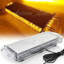 "21"" LED 40W Amber Flasher Emergency Beacon Mini Top Hazard Warn Strobe Light Bar"