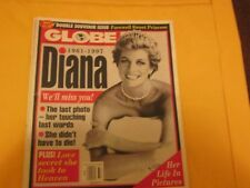 Globe Magazine September 16,1997 Diana We'll Miss You