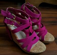 DOLCE VITA TABIA PETAL SUEDE SANDALS SIZE 6 NEW