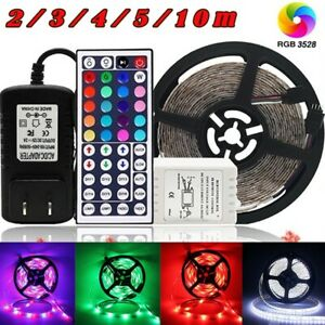 10M LED Strip Light 5050 SMD RGB 30Leds/m Waterproof WIFI IR Controller 12V Plug