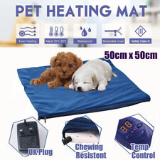 12v Cat Dog Pet Heat Pad Mat Heating Mat Bed Whelping Electric Blanket Puppy UK