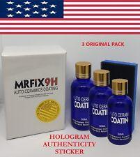 3 PACK 9H MR FIX ORIGINAL SUPER CERAMIC CAR COATING Wax