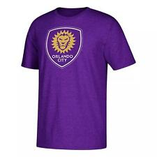 Official MLS Men's Short Sleeve Corner Kick Logo T-Shirt Orlando City SC Small S