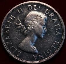 Uncirculated 1959 Canada Silver One Dollar Foreign Coin