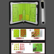 New Football Champion Tactics Folder Magnetic Coaching Board/Book Game Plan