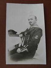 Alte AK Marine Matrose Signalmaat Schiff SMS Kronprinz- Wilhelm