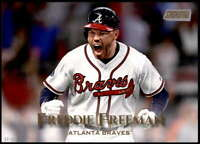 Freddie Freeman 2019 Topps Stadium Club 5x7 Gold #27 /10 Braves