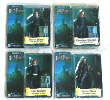 4 Harry Potter Order of Phoenix Action Figures Series I Sirius, Hermione, Ron
