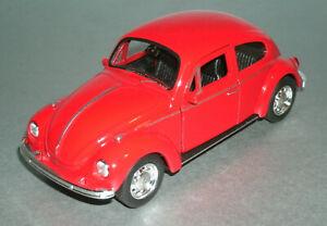 VW Volkswagen BEETLE Die Cast Model Scale 1//34-1//39 Green Welly