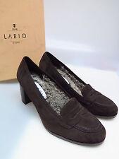 LARIO COMO 1898 Designer Damenschuhe LA L6351 Camoscio Assuan Fell Gr. 39,5 NEU
