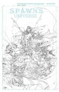 🔥 SPAWN UNIVERSE #1  🔥1:50 BOOTH SKETCH VARIANT  🔥 NM 🔥