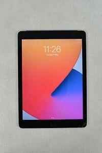 Apple iPad Air 2 Space Grey A1566 9.7'' Damaged Screen 32GB 2014 Model WiFi+Cell