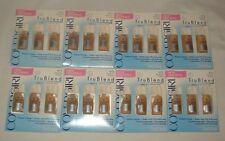 Lot of 8 CoverGirl TruBlend Foundation Makeup Medium Light Natural Beige Warm