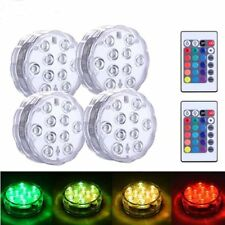 LED Fountain Light Battery Operated Submersible Lights Underwater Light