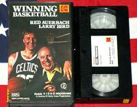 Winning Basketball with Larry Bird (VHS, 1987) Video NBA Celtics Basketball Rare
