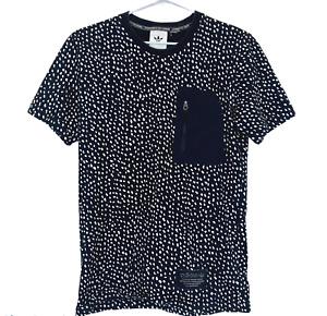 Adidas Unisex Black/White Spotted Short Sleeve T Shirt