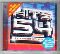(GZ518) Various Artists, Hits 54 - 2002 Double CD