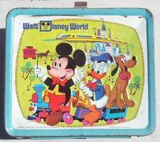 Vintage Walt Disney World Lunch Box & Thermos