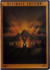 THE MUMMY ULTIMATE EDITION 2-DISC DVD SET BRENDAN FRASER WIDE & FULLSCREEN NM