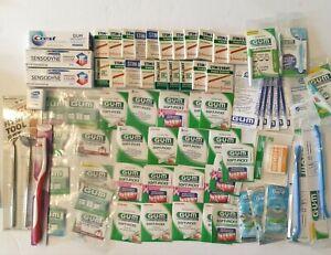 Lot of Plaque Removers,Floss Picks, Toothbrush, & BrushPicks, Sensodyne... NEW
