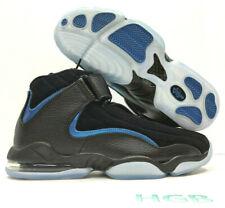 4ef012c7e23 Nike Air Penny IV 4 Mens Basketball Shoes Black Neon Royal Blue 864018-001  NIB
