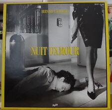 BERNARD LAVILLIERS NUIT D'AMOUR DOUBLE FRENCH LP BARCLAY 1981