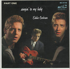 EDDIE COCHRAN - Singin' To My Baby Part 1 - REISSUE EP - CLEAR WAX - BE! SHARP
