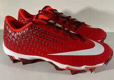 Nike Vapor Ultrafly 2 Keystone Red Mens Baseball Softball Molded Cleats Size 8