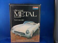 53 Corvette 1:24 metal Kit Monogram made in USA