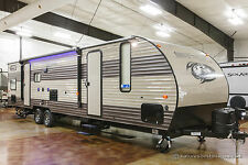 New 2017 29TE Limited Lite Bunkhouse Travel Trailer Quad Bunks Slide Out Camper
