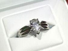 Pear Gold VVS1 Fine Diamond Rings