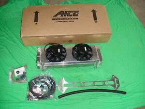 AFCO heat exchanger intercooler / dual fan kit supercharged 99-04 F150 Lightning