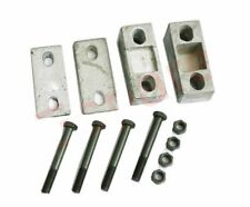 Engine Rear Support Cross Member Upper & Lower Wedge+Bolts For Willys Jeeps ECs
