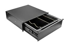 OSP Cases HYC-3UD-DIV 3 Space Loaded Rack Drawer with Divider