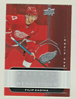 2019-20 UD TRILOGY ROOKIE RENDITIONS #RR-25 FILIP ZADINA RC Detroit Red Wings