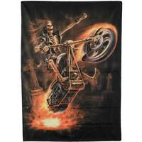 """Anne Stokes Oriental Skull Gothic Cloth Fabric Textile Poster Flag 30/"""" x 40/"""" New"""