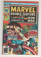 MARVEL Double Feature #18 Captain America Iron Man Avengers 9.0