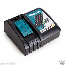 Makita DC18RC Li-ion 7.2V - 18V Fast Battery Charger UPDATED - EU MODEL Genuine